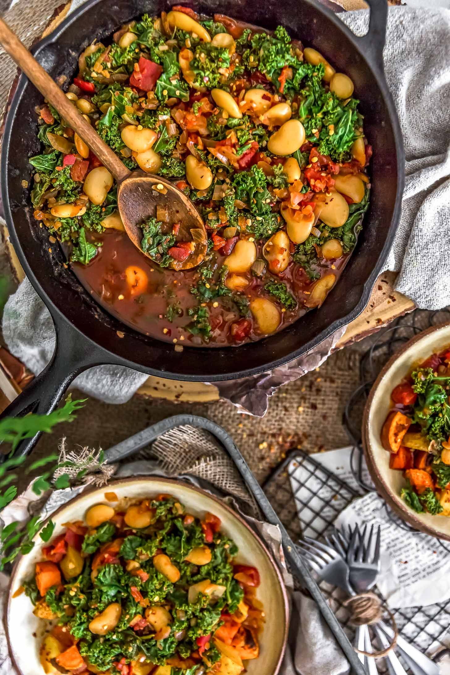 Southern Kale And Butter Beans