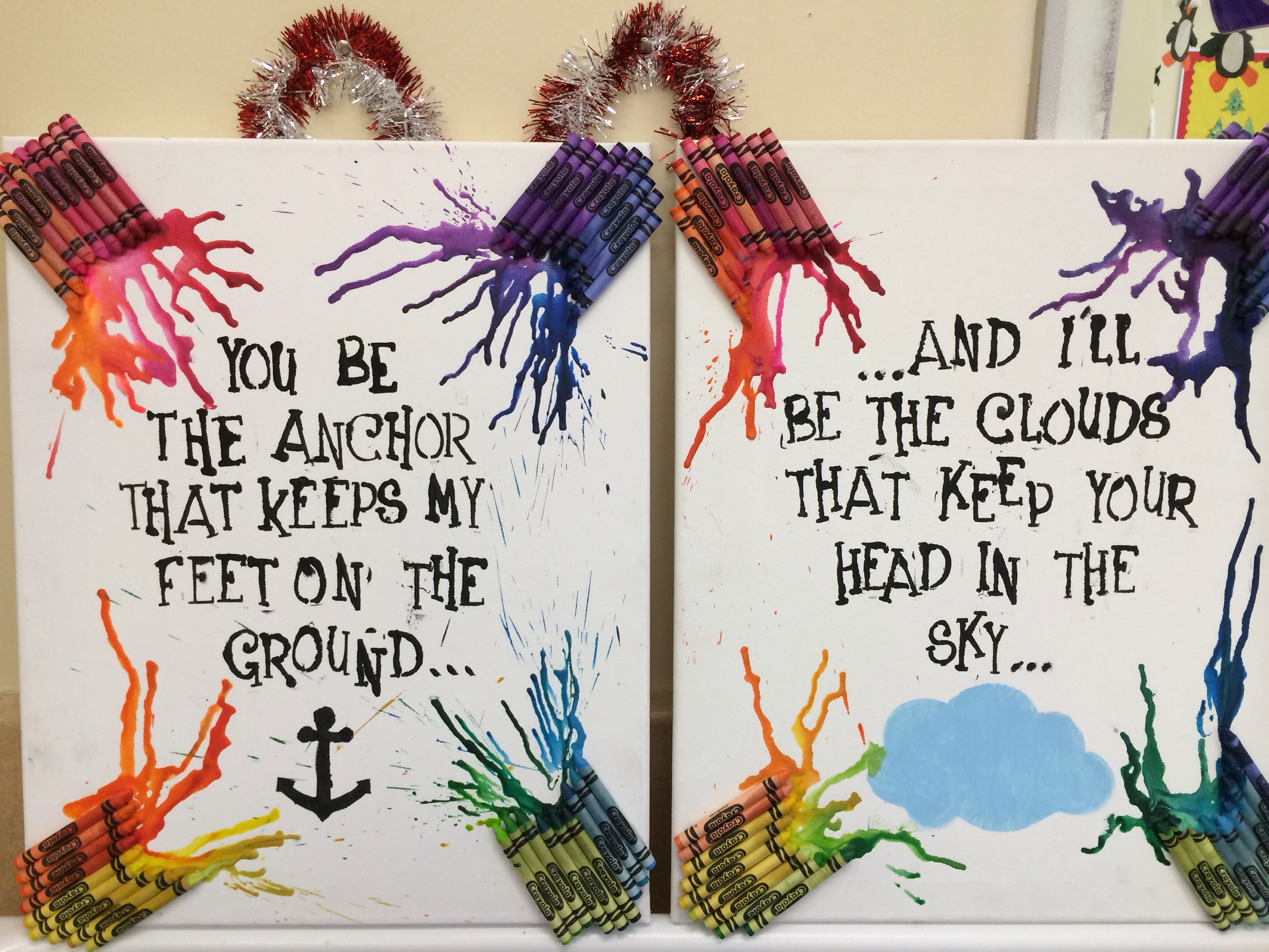Christmas gift for my best friend. Saw this quote on a