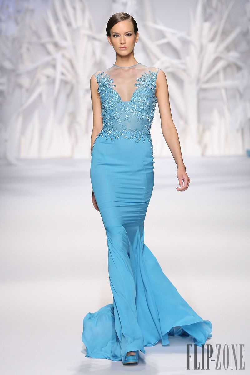 Abed Mahfouz Fall-winter 2013-2014 - Couture (for some reason Halle ...