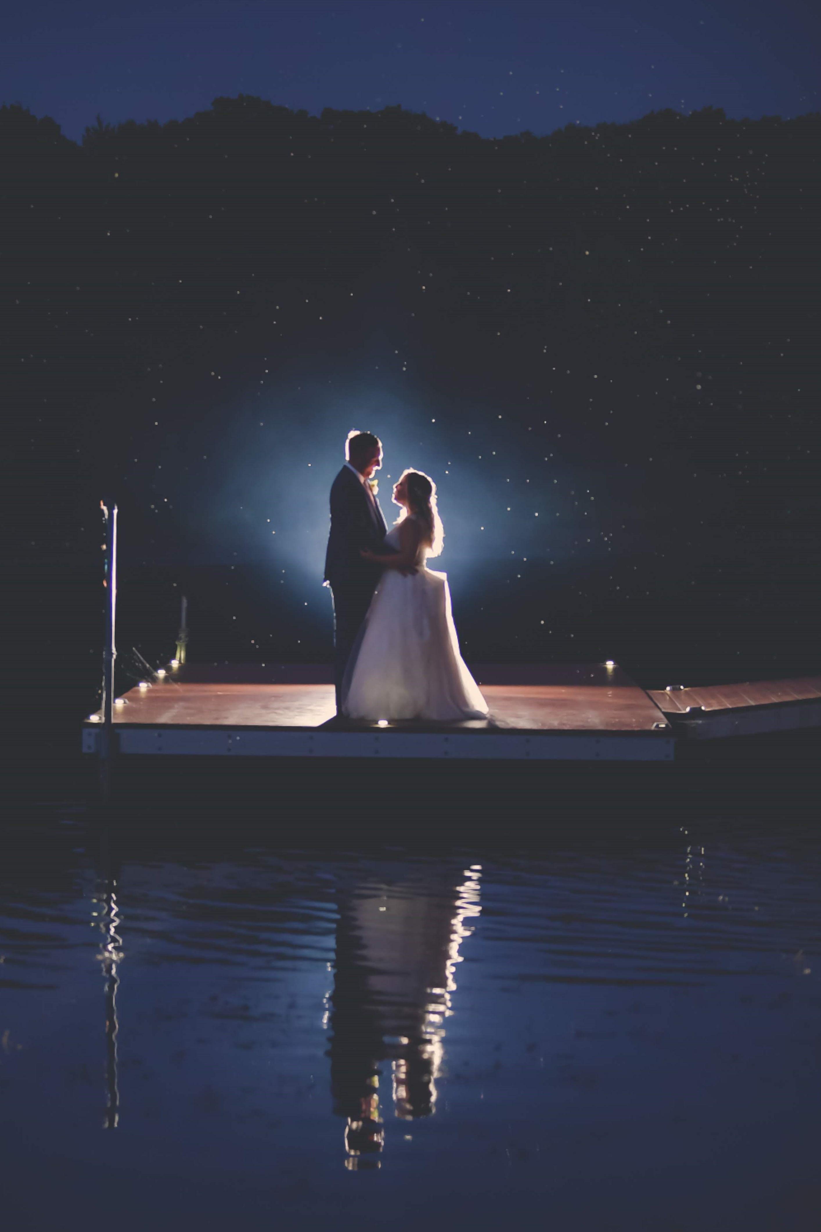 Nighttime Wedding Photos In 2020 Outdoor Night Wedding Night Wedding Photos Night Wedding Photography