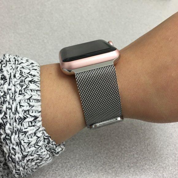 Sold Rose Gold Apple Watch 42mm Rose Gold Apple Watch Gold Apple Watch Apple Watch Accessories
