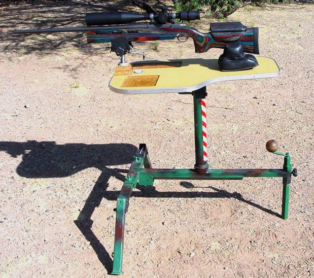 Woodworking Projects That Sell Gun Rest | Shooting Bench Plans