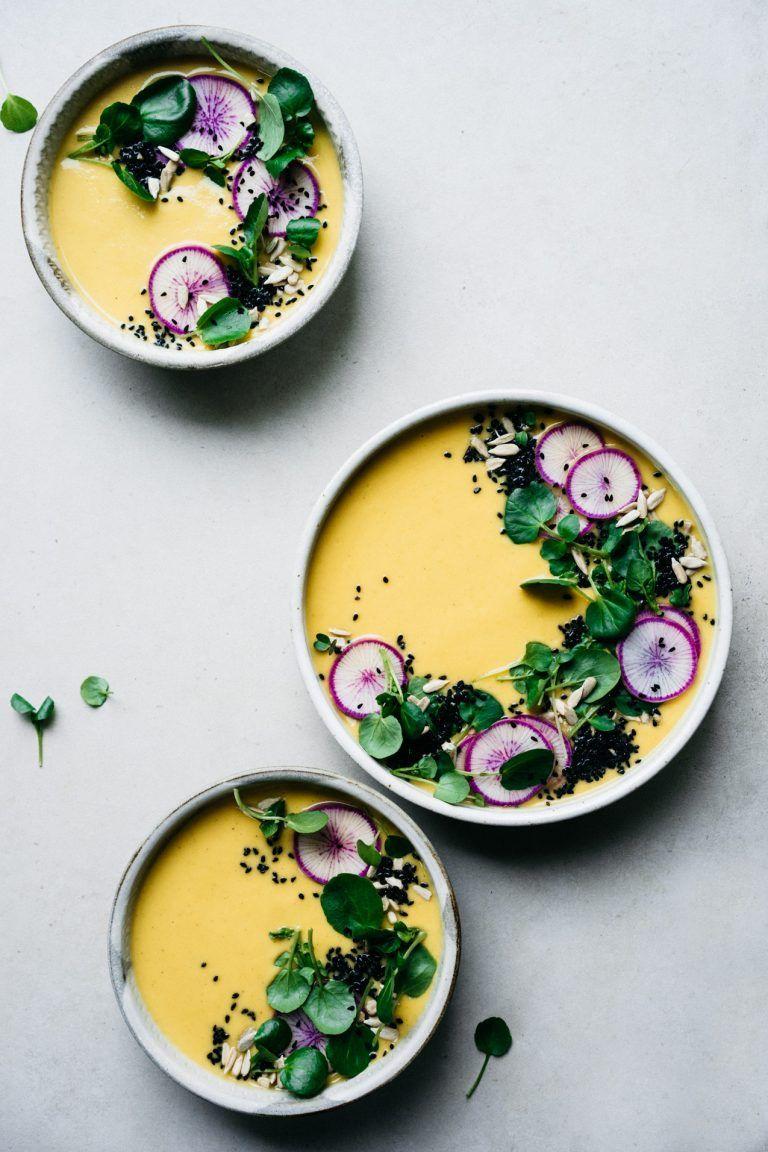Immune Boosting Roasted Cauliflower Soup Y U M Y U M