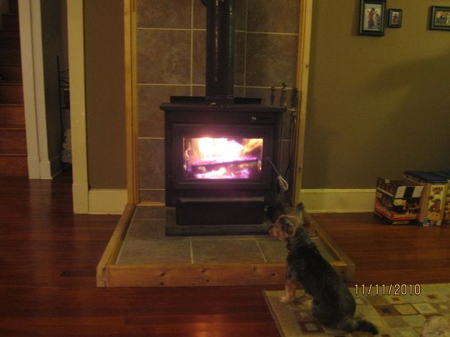 Wood stove hearth pads buy vs make forums for Floor hearth