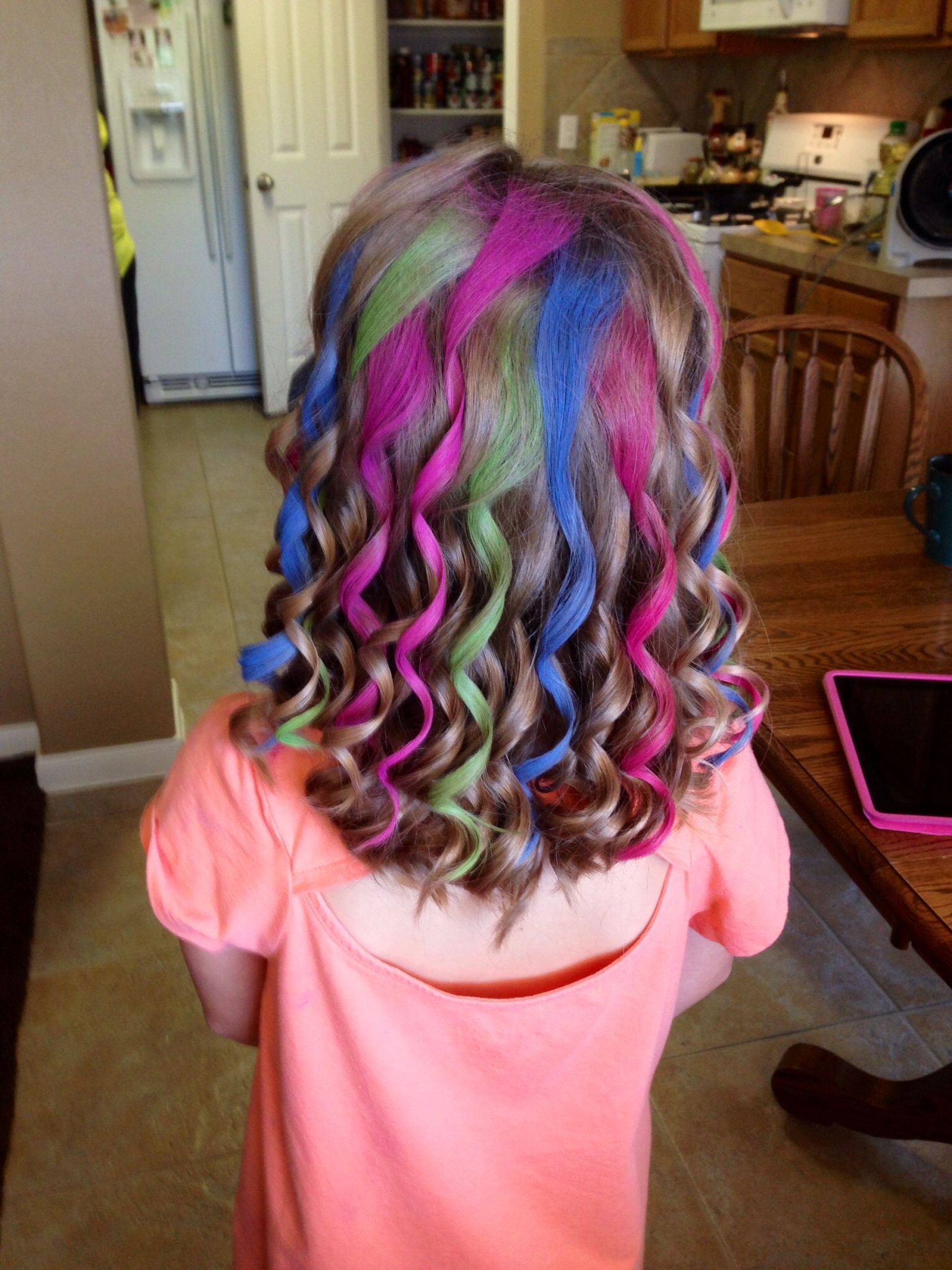 Chalking Kids Hair Fashion Fabulous Hair Kids Hair