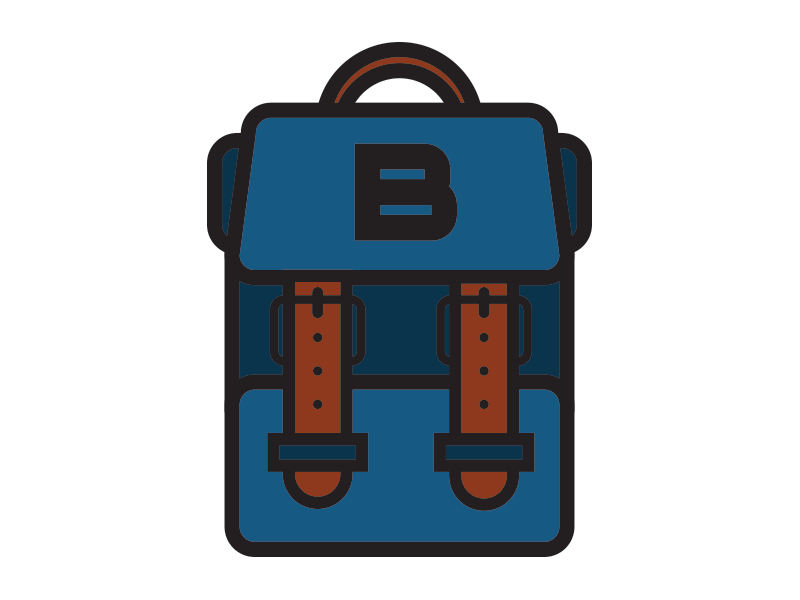 Backpack Logo Pixel Art Background Instagram Highlight Icons Backpacks