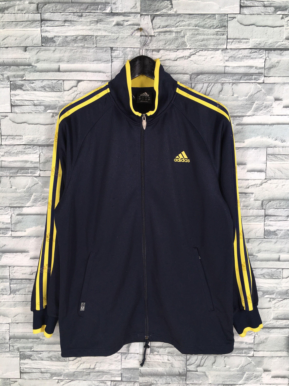Vintage Adidas Track Top Mens Medium Vintage 90 S Adidas Etsy Vintage Adidas Adidas Track Jacket Yellow Tracksuit [ 3000 x 2250 Pixel ]