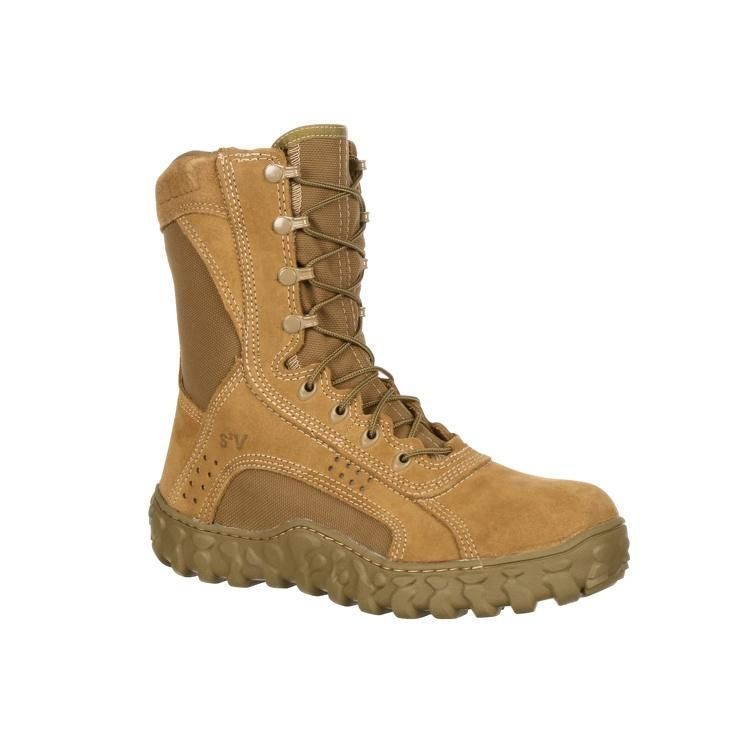 Rocky Coyote Brown S2v Ar 670 1 Compliant Tactical Military Boot 104 In 2020 Boots Military Shoes Rocky Boots