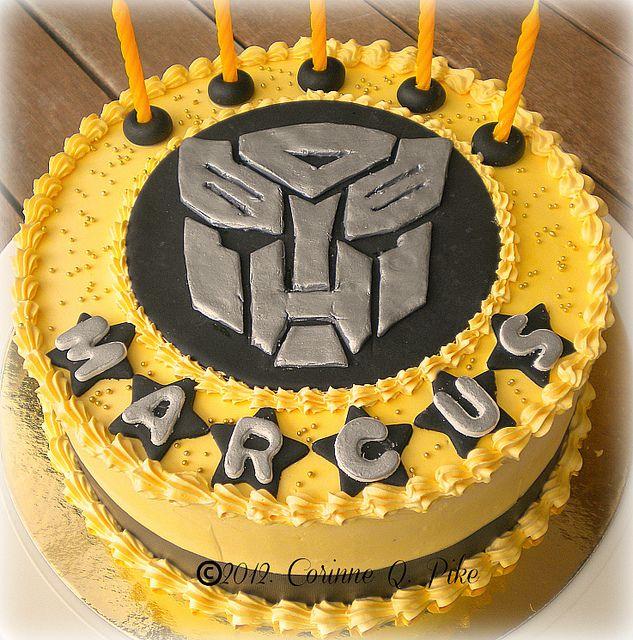 Transformer Cake Pops Ideas