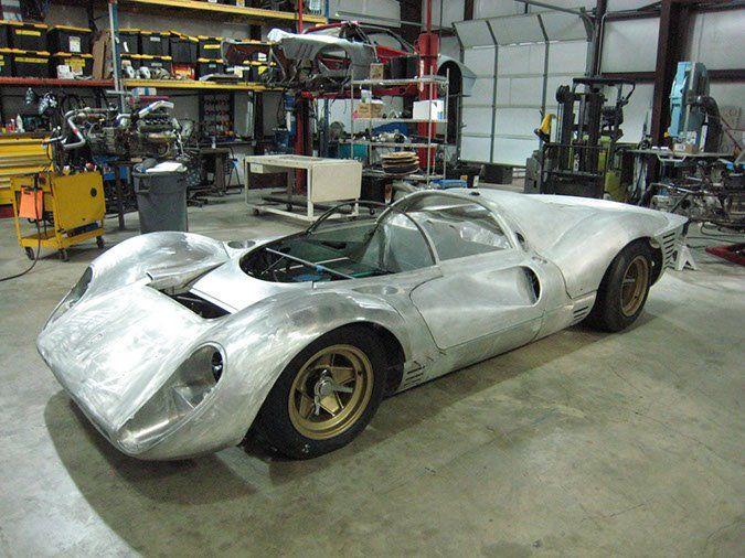 All Aluminum Body Ferrari 330 P4 Replica By P4 By Norwood Classic Racing Cars Ferrari Classic Race Cars