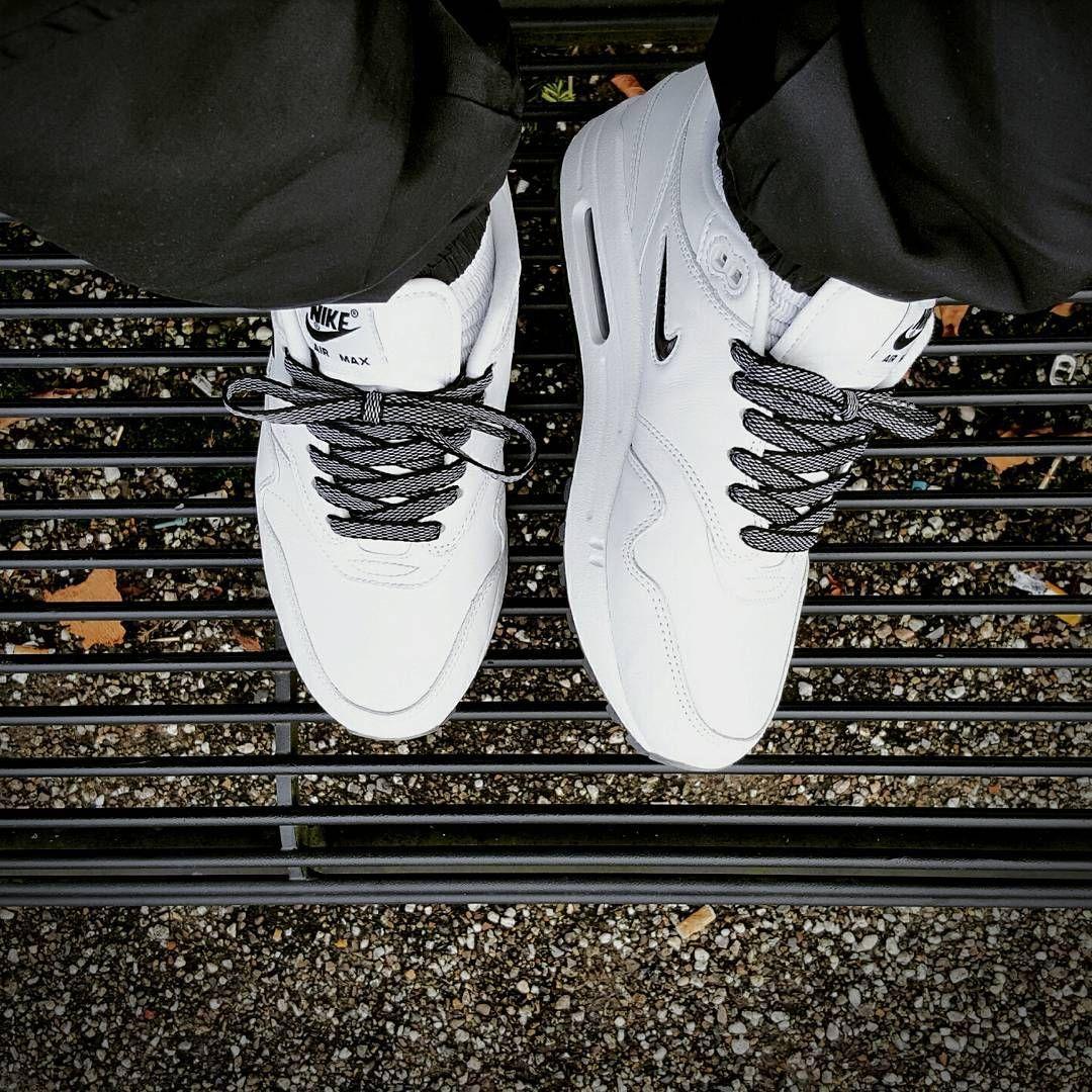Nike Air Max 1 x SC Jewel Black x NikeiD Laces @pattajunky