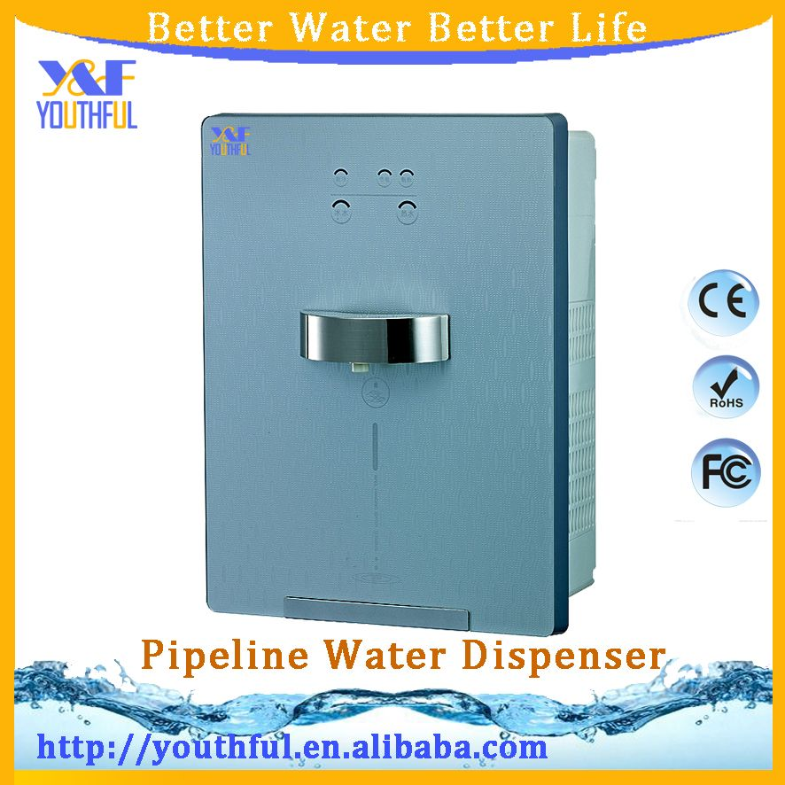 Ice Hot Household Drinking Wall Mounted Touch Pipeline Water Purifier Filter Water Dispenser Water Purifier Filtered Water Dispenser Water Dispenser