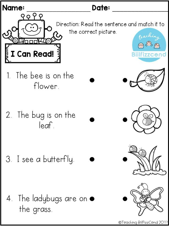 Reading For Preschoolers Worksheets Www.robertdee.org