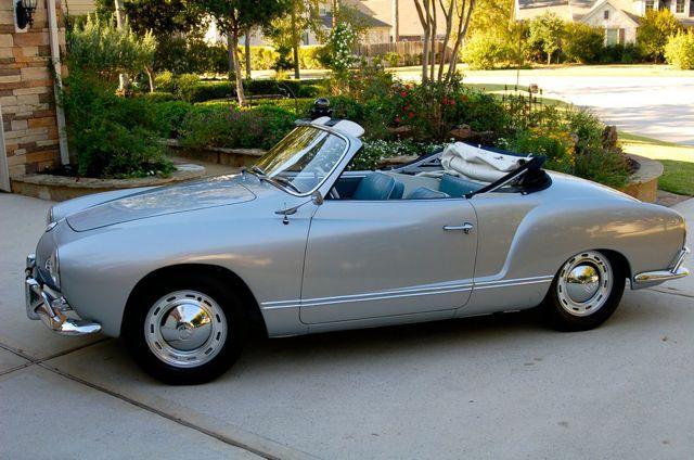 1963 VW Karmann Ghia Convertible For Sale  Oldbugcom  Cars