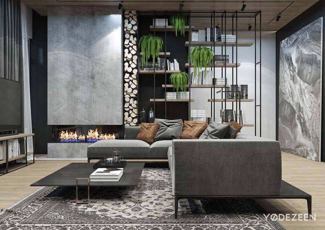 Atmosph re sombre tbilisi projets de maisons maisons - Maison de campagne familiale darryl design ...