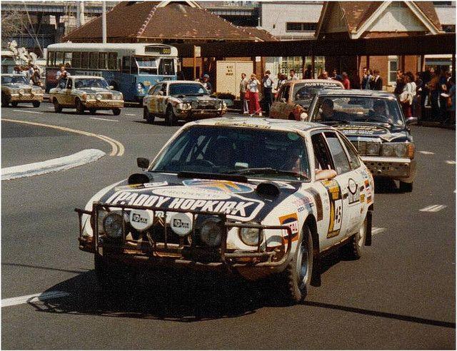 Paddy Hopkirk 1977 London Sydney Citroen Rally Racing Rally Car