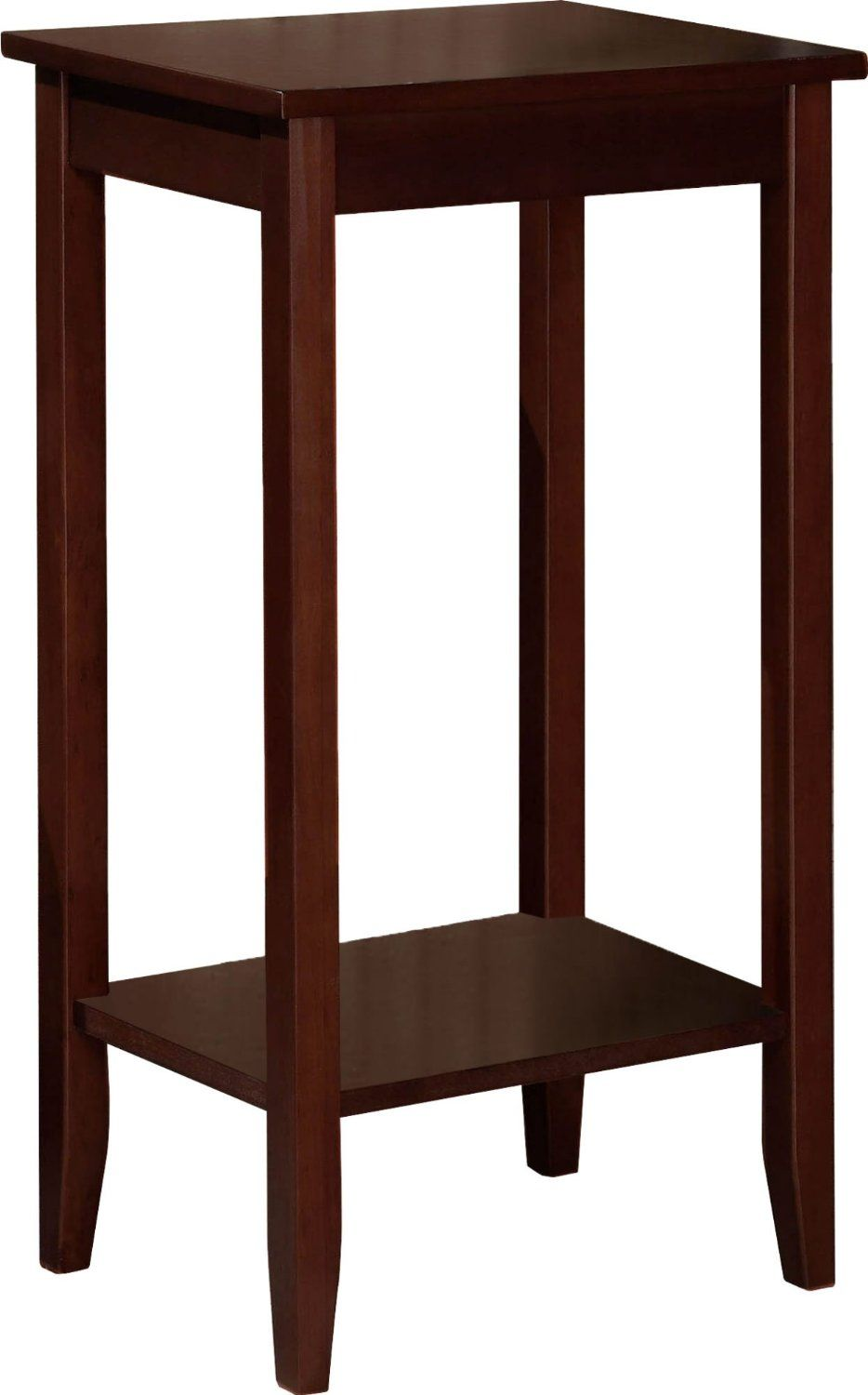 Dorel Home Products 5138096 End Table  Wood and Wood Veneer  12 x coffee  brown Tall  lean and lovely  DHP s Rosewood Tall End Table brings a unique. Amazon com   Dorel Home Products coffee brown Tall End Table