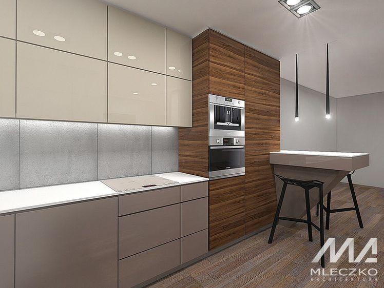 Szara Kuchna Z Polyskiem Jaki Blat Wybrac Kitchen Design Decor Modern Kitchen Design Modern Kitchen