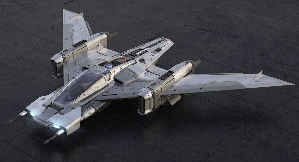 The Force Is Strong In Porsches Star Wars Inspired Pegasus Starfighter