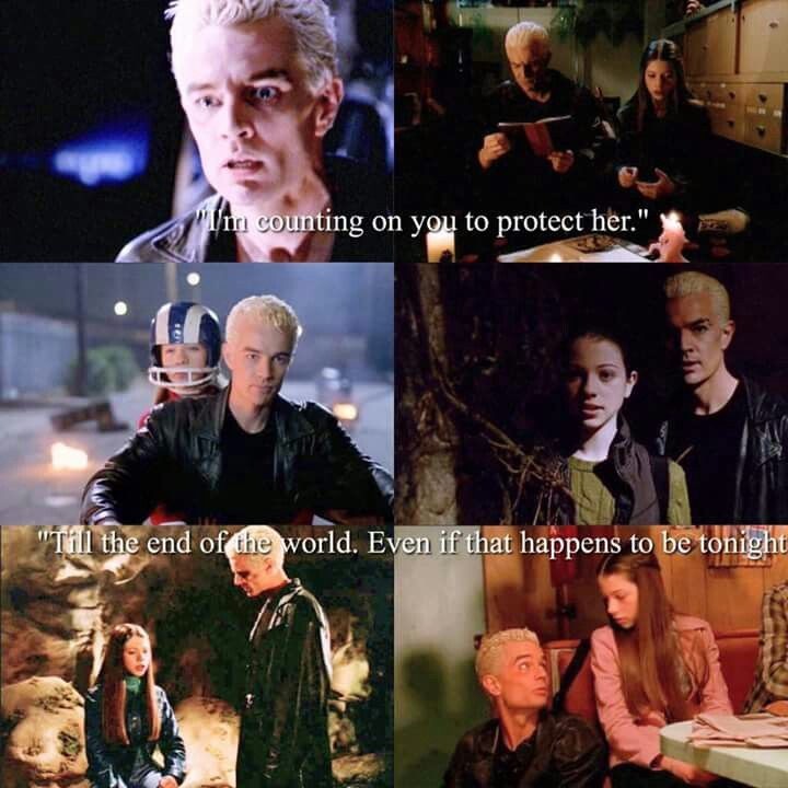 Buffy relationship and spike Look Back