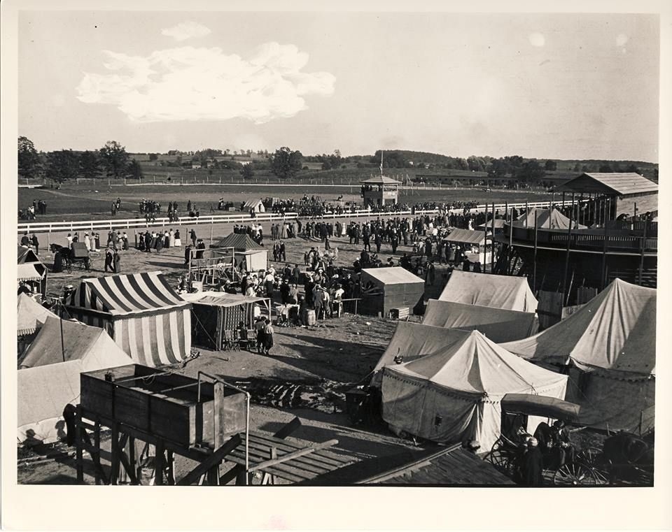 Howell Fairgrounds 1914 Located Off East Grand River On Property