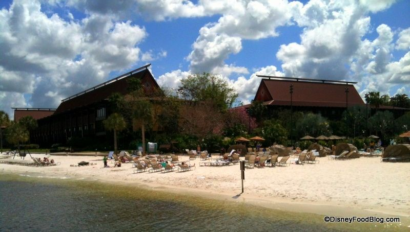 Polynesian Resort Beach