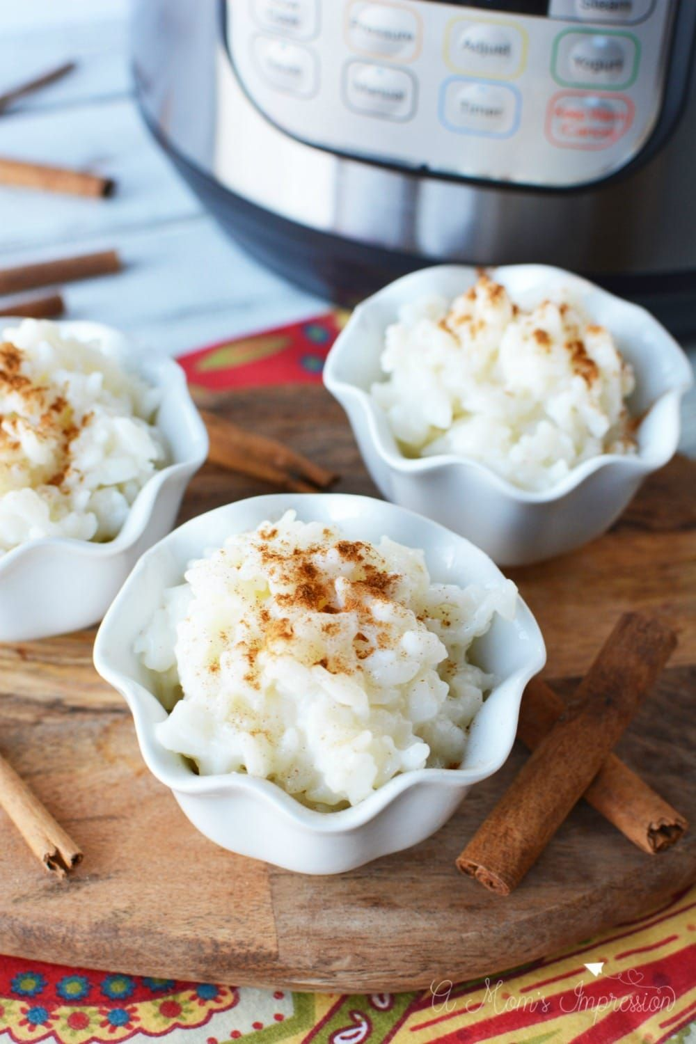 This easy Instant Pot Rice Pudding can be made using your ...