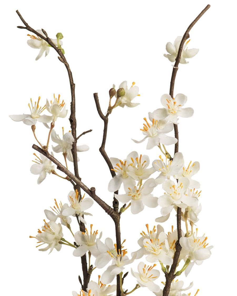 Cherry Blossom Silk Flower Stems For Casual Decorating At Petals White Flower Arrangements Silk Flowers Silk Flower Arrangements