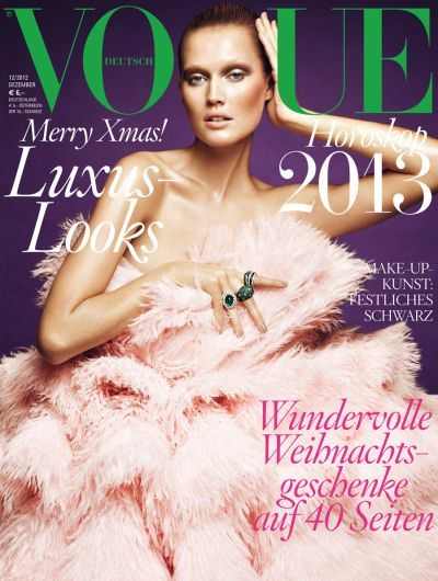 """Toni""""s Vogue Germany Cover. 