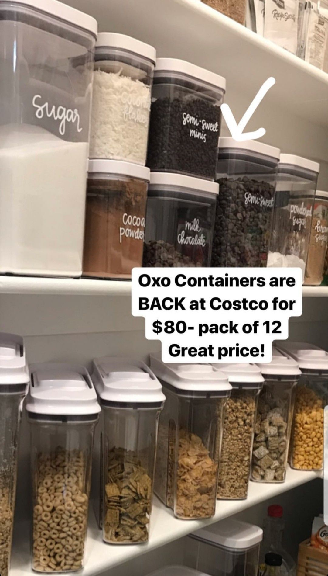 Pin By Suzanne Barnes Engemann On Design Pantry Oxo Containers