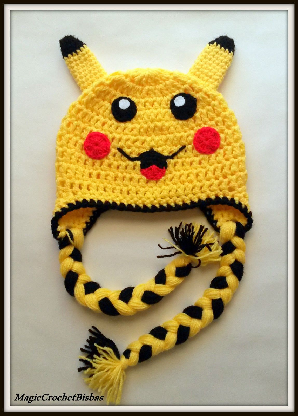Pokemon pikachu Crochet baby Kids hat Handmade fancy costume | eBay