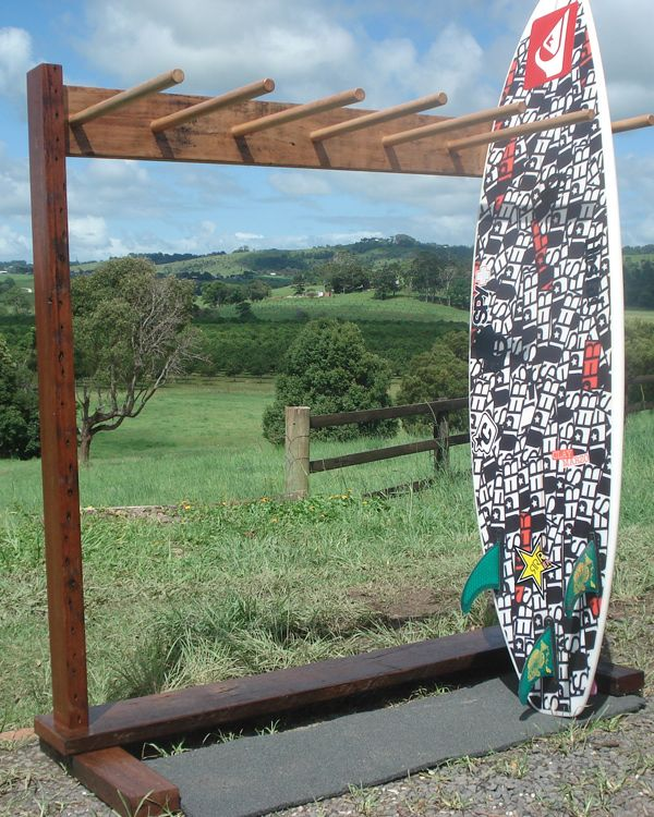 DYI Vertical Surfboard Rack   Google Search · Surfboard StorageSurfboard  RackKayak ...