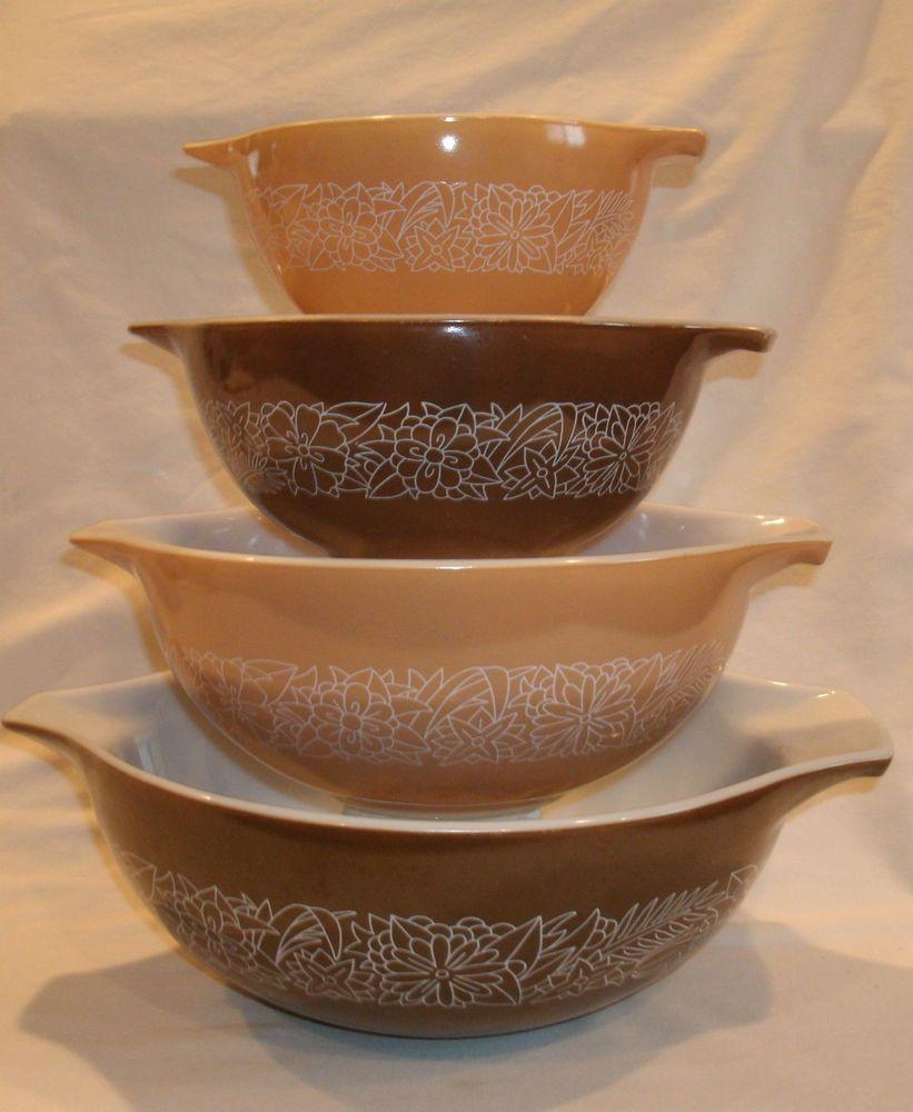 Pyrex Woodland Cinderella Nesting Bowls