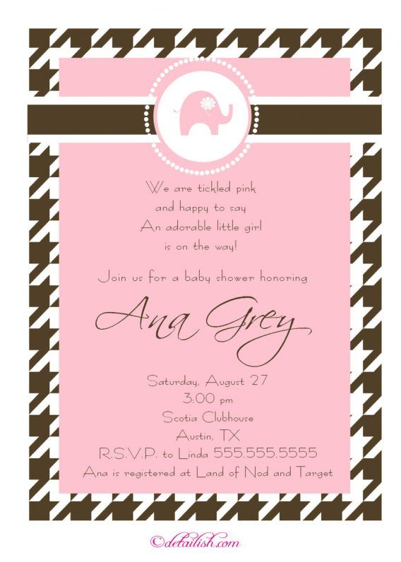 Baby Shower Baby Shower Girl Invitation Wording As An Inspiration To Make