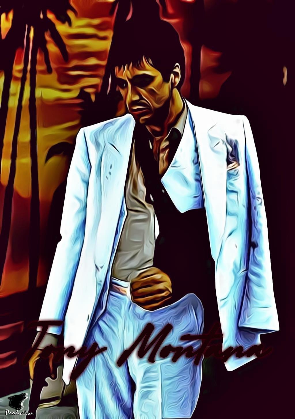 Tony Montana Lockscreen Tony Montana Rap Artists Scarface