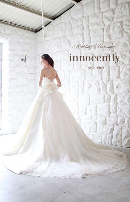 46bc9cbc5816e イノセントリー No.78-0016 ウエディングドレス 結婚式