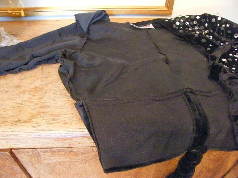 Jye Fresca's Misto song costume jacket construction