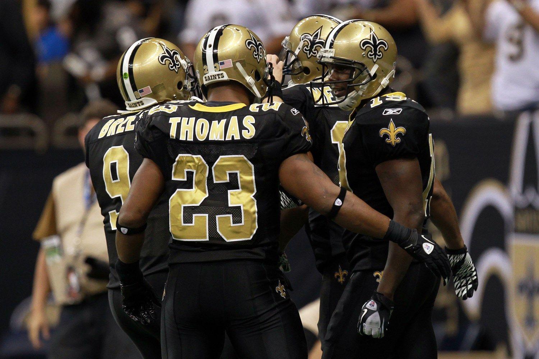 New Orleans Vs Green Bay Movoli Pierre Thomas Saints Vs New Orleans
