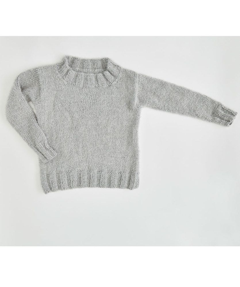 Free Knitting Pattern for So Soft Comfy Sweater | Knitting | Pinterest
