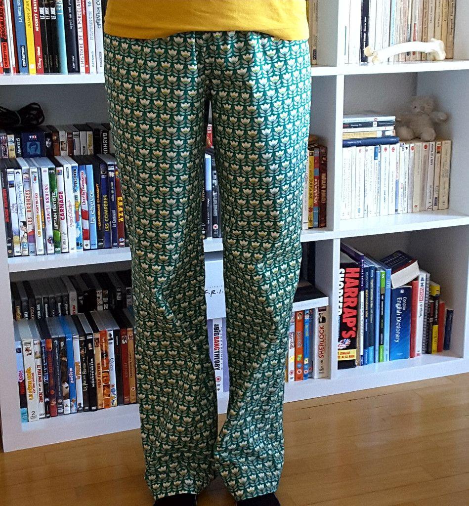 Couture n°17 : le pyjama Tamagotshi breton (Festive road)