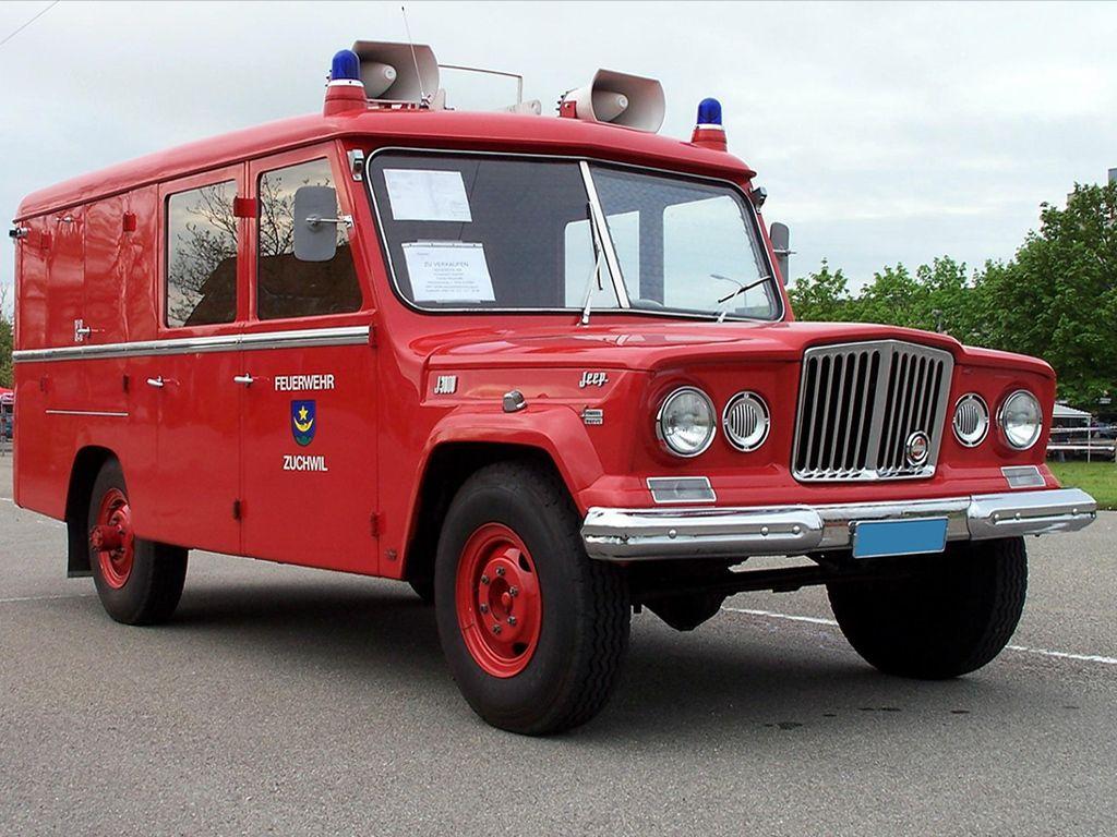 1969 Jeep J3000 Gladiator Feuerwehr Jeep Gladiator Ambulancia