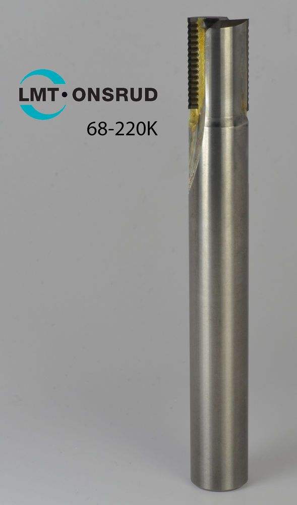 """68-220K Onsrud 3/8"""" Double Flute Solid Carbide PCD SERF Cutter for #Composites #LMTOnsrud #manufacturing #aerospace"""