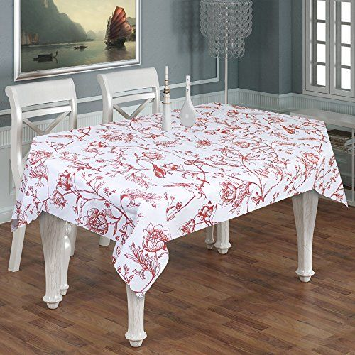 Rectangular Tablecloth Printed 6 Seater 100 Cotton Animal Print Tablecloth Rectangle Long Turquoise Tablecloths For Sale Table Cloth Dining Table In Kitchen
