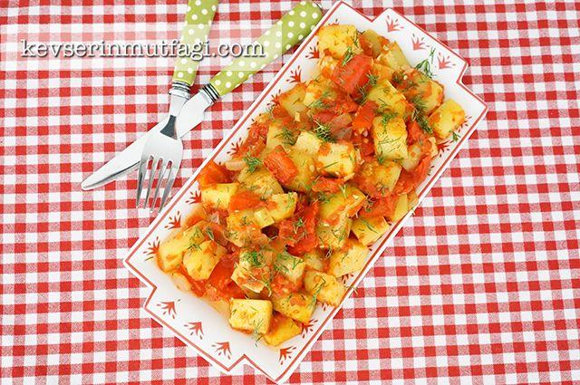 Fırında Kabak Yemeği Tarifi - Kevser'in Mutfağı - Yemek Tarifleri