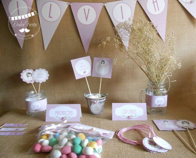 Dise o y decoraci n personalizada para eventos primera - Decoracion primera comunion ...