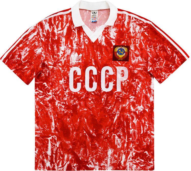2021 1990 Retro USSR CCCP Soviet Union JERSEYS 86 87 Igor Belanov ...