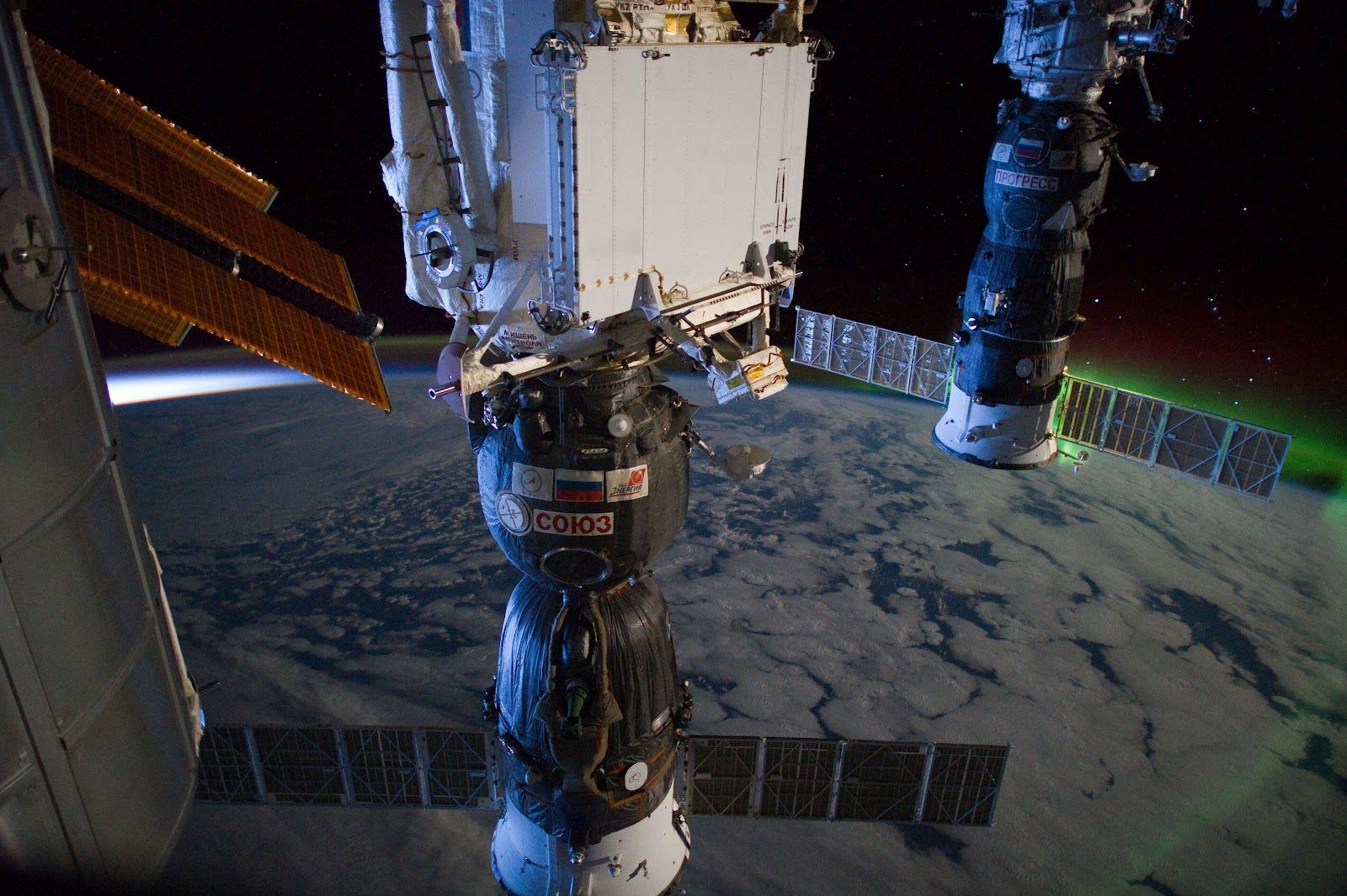 Progress M-14M & Soyuz TMA-03M (ISS)