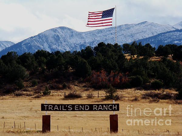 Ranching American Style By Eva Kato American Style Ranch Gates American Flags Flying