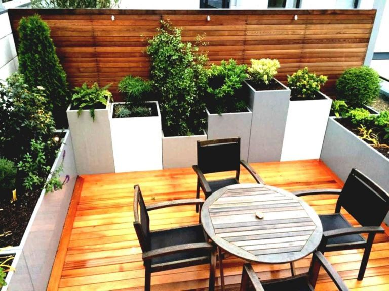 Small Rooftop Garden Design Ideas With Seating Area With Images