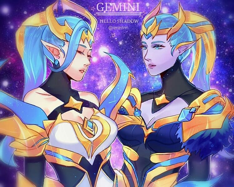 Can I Say This Is Collab With Bakskuy Karina Selena Zodiac Skin Mlbb Mlbbfanart Fanart Selenafanart Karinafanart Gambar